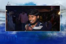 JNU row: Jadavpur University student protests against Kanhaiya Kumar's arrest
