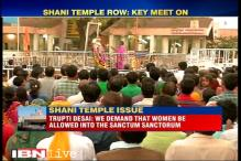 Shani temple row: Protestors, temple management meet to end impasse