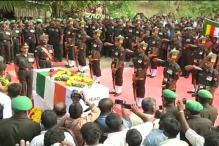 Watch: Last respects paid to Siachen martyr Havildar Elumalai in Vellore