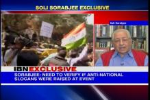 Criticism of government does not amount to sedition: Soli Sorabjee