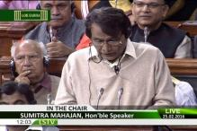 Rail Budget: Suresh Prabhu invokes poems of Harivansh Rai Bachchan and teachings of Buddha