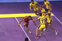 Telugu Titans thrash Bengaluru Bulls 40-22 in Pro Kabaddi League