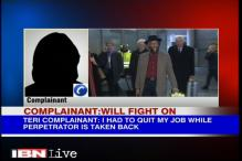 Sexual harassment complainant reacts to Pachauri's promotion at TERI