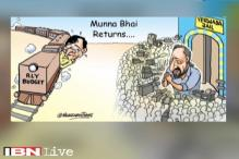 Breaking toon: Munna bhai returns