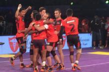 U Mumba edge out Bengaluru Bulls in Pro Kabaddi League