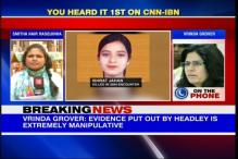 Ishrat Jahan family's lawyer claims 'Headley's claim not valid in court'