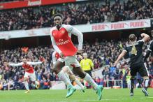 Leicester City's lead cut to 2 points after 2-1 loss at Arsenal in EPL