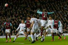 Ogbonna's header in extra time sees West Ham United stun Liverpool in FA Cup