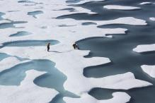 In pics: Arctic ice cover shrinks to a record low, thanks to global warming