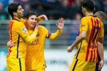 La Liga: Messi's brace helps Barcelona rout Eibar, Atletico, Bilbao win too