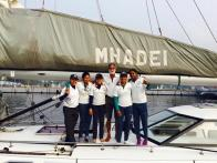 Navy's all-women sailing crew readying to go around the globe