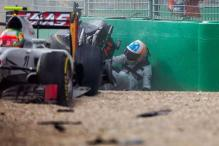 F1: Fernando Alonso walks away from huge crash at Australian Grand Prix