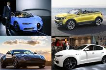 From Bugatti Chiron to Maserati Levante: Top cars from Geneva Motor Show