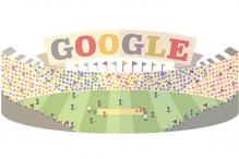 Google doodle runs high on T20 Cricket World Cup fever