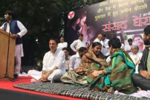 IYC holds rally, demands Smriti Irani's removal