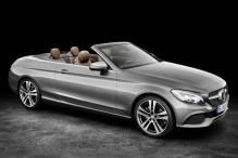 Mercedes C-Class Cabriolet soft-top sedan debuts in Geneva