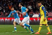 Serie A: Napoli rally to beat Verona, join Juventus on top