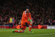 EPL: Arsenal's title hopes take a hit as injured Petr Cech out for a month