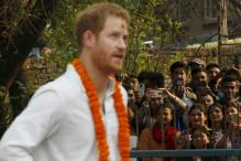 Prince Harry celebrates Holi in Nepal
