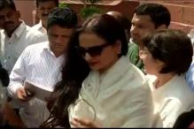 Rekha's official residence is Congress's war room