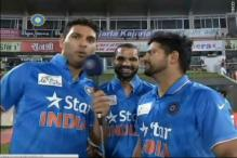 When Yuvraj Singh turned a TV reporter