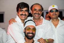 Ravi Teja, Nagarjuna and Rana Daggubati attend Sensation Hyderabad