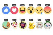 Don't like the new Facebook Reactions? Swap them with Pikachu or Donald Trump