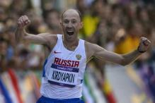 Dope-tainted Russian 50km walker to be striped of London Olympics gold