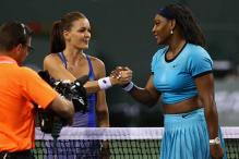 Serena battles past Radwanska to storm into Indian Wells final
