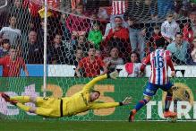 La Liga: Sporting Gijon come from behind to upset Atletico de Madrid