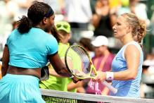 Serena, Radwanska lose on a day of upset at Miami Open