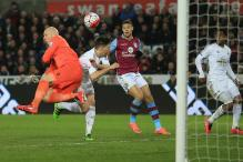 EPL: Swansea hand Aston Villa their sixth consecutive league defeat