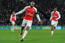 FA Cup: Giroud, Walcott's braces power Arsenal to quarterfinals