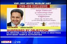 My name will not be dropped, says Muslim IAS officer on temple invite row