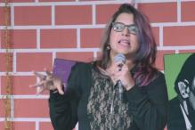 Die laughing as stand-up comic Aditi Mittal brutally dissects sanitary pad ads