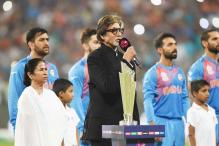 Amitabh Bachchan accused of 'stretching' national anthem before Indo-Pak T20 match