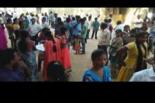 Despite Rs 15,000 crore education budget, students write exam papers on floor in Andhra