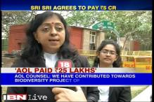 Sri Sri's Art of living foundation pays Rs 25 lakh compensation