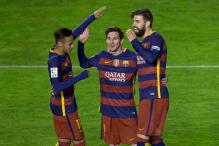 La Liga: Messi's hat-trick sinks Vallecano, powers Barcelona to a record win