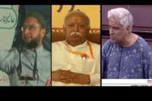 Nationalism or politics: Row over chanting 'Bharat Mata ki Jai'