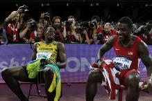 Watch: Usain Bolt's 100m world record gets blown away by Justin Gatlin's 'fan'