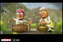 Breaking toon: Politicians celebrating Holi