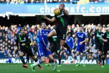 Late goal from Biram Diouf gives Stoke 1-1 draw at Chelsea in EPL