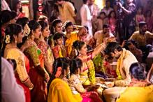 Inside photos: Chiranjeevi's daughter Srija ties the knot with NRI businessman Kalyan