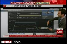CNN tracks flight FZ981 which crashed in Russia