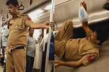 How social media misjudged an unwell policeman to be a 'drunk' on the metro