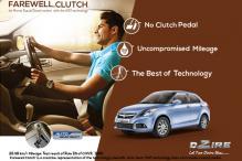 Farewell clutch: Maruti Suzuki Dzire AGS