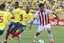 Late goals rescue Ecuador, Colombia in World Cup qualifiers