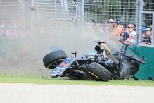 Fernando Alonso feared for his life during 'scary' crash in Australian Grand Prix