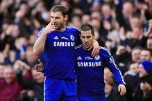 Chelsea's Branislav Ivanovic defends Eden Hazard after fans' jeers